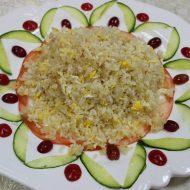 №151. рис жареный с яйцом