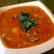 №161. суп из говядины с помидорами