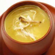 №163. грибной суп на курином бульоне