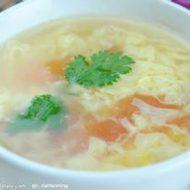 №164. суп с огурцом и яйцом